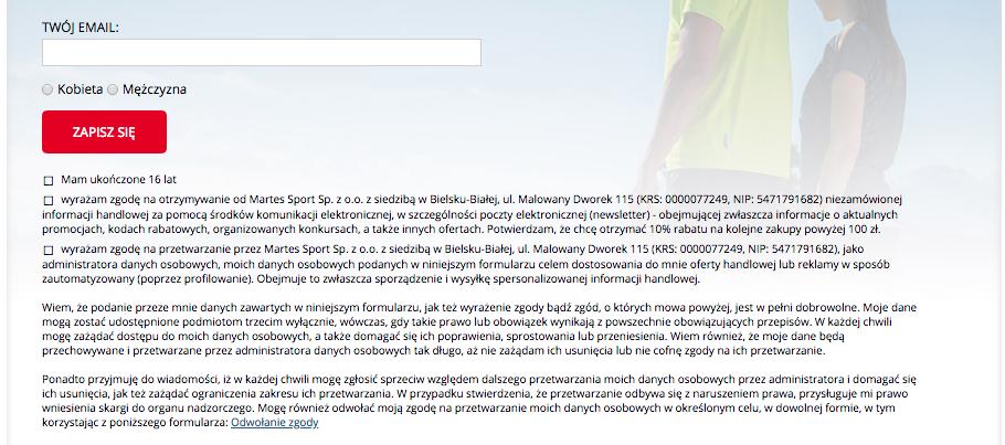3e9460c33e44 Regułka pod formularzem zapisu do newslettera