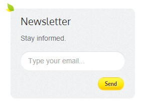 How to link the newsletter signup to my website?