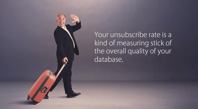 newsletter unsubscribe rate