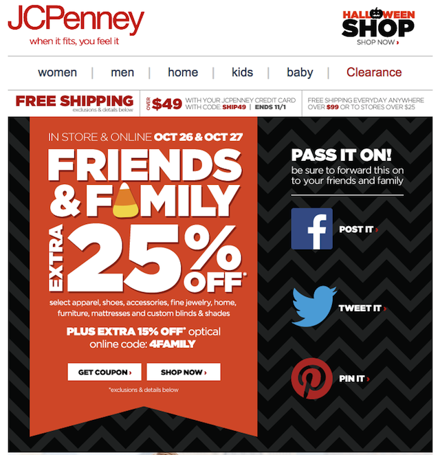Newsletter JC Penny