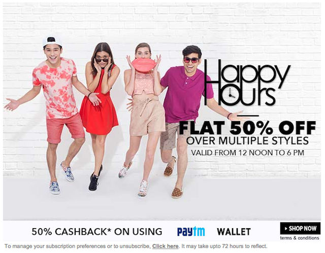 Newsletter: Jabong