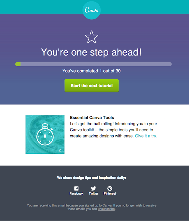 Newsletter: Canva