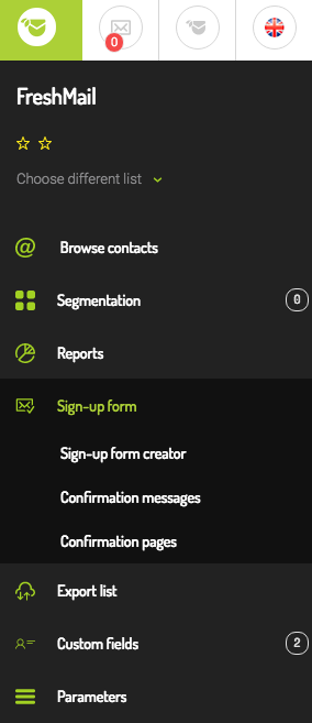freshmail_screen
