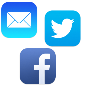 logo facebook mail