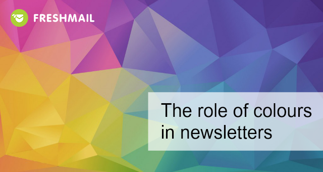 The role of colours in newsletters