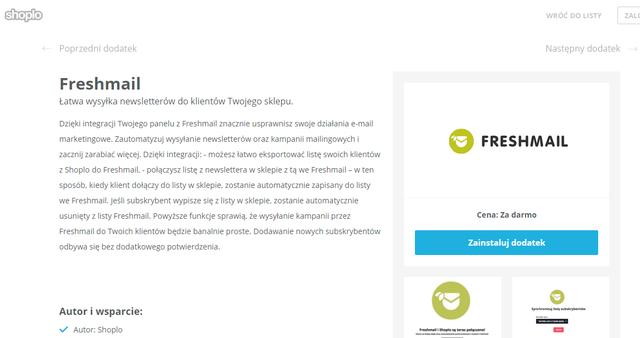 67eb42fd20 Integracja Shoplo z FreshMail