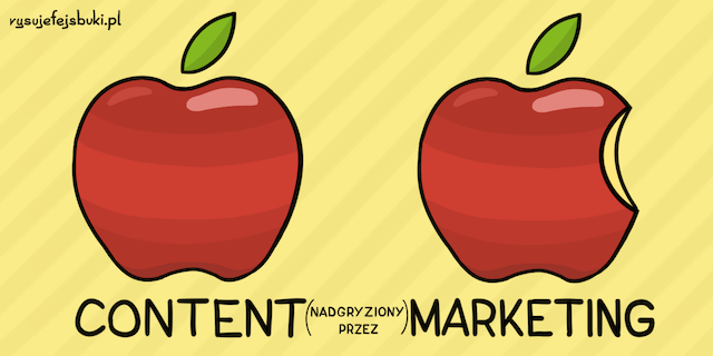 Rysunkowa definicja content marketingu