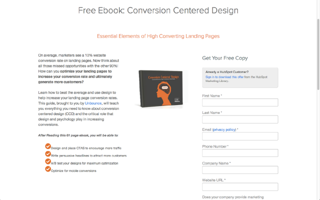 Email-centric Landing Pages Image 2