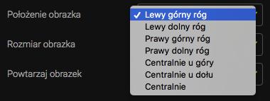 położenie obrazka w formularzu subskrypcji