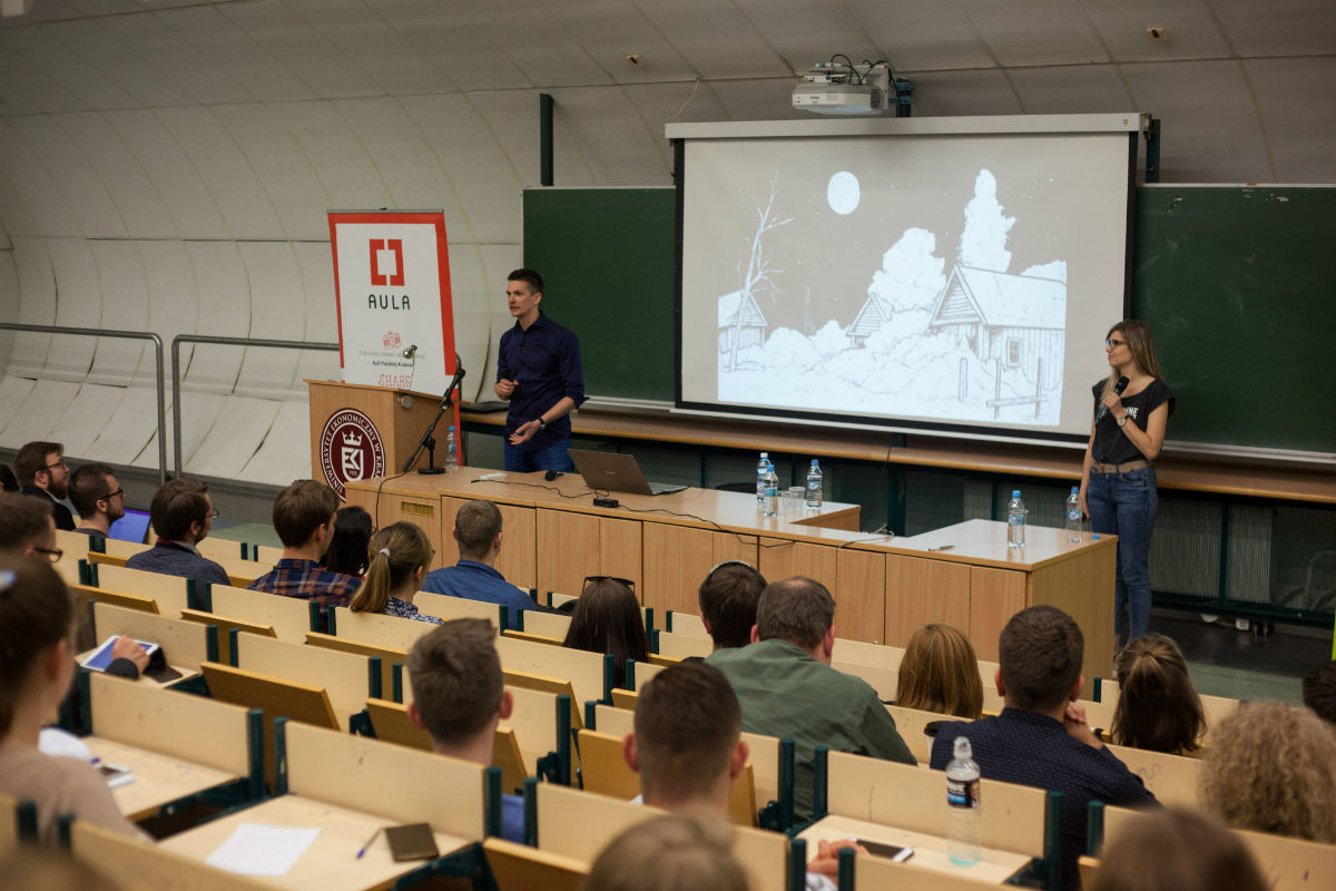sztuka prezentacji na auli polskiej