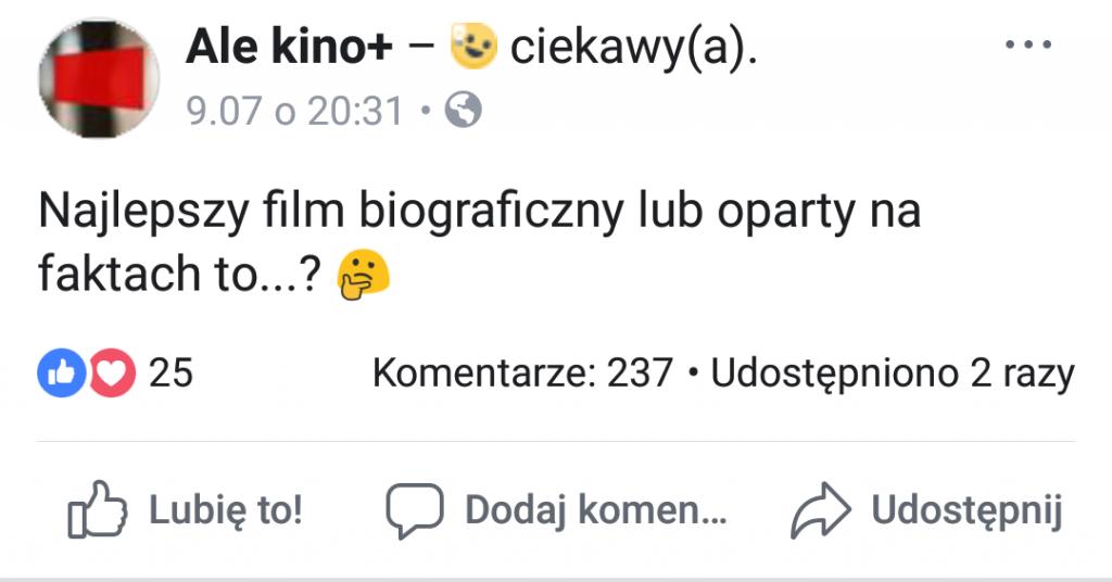 Stacja Ale Kino interesuje się tym, jakie filmy preferują widzowie