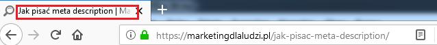 title - element optymalizacji strony www