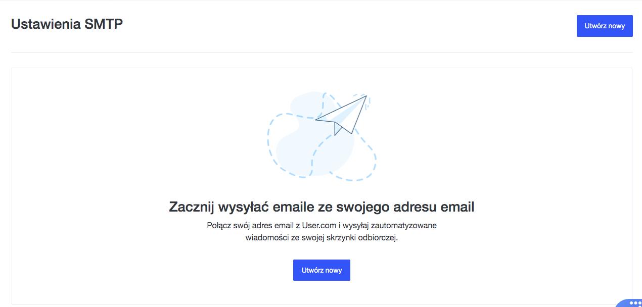 Wejście do okna integracji User.com i FreshMaila