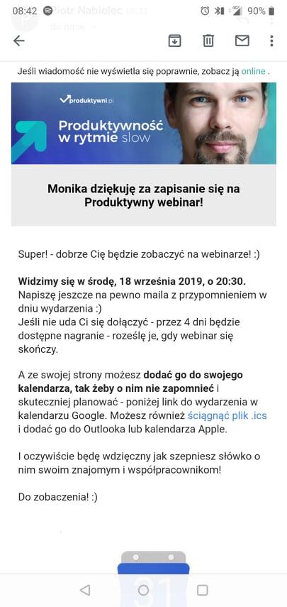 mailing - produktywni.pl