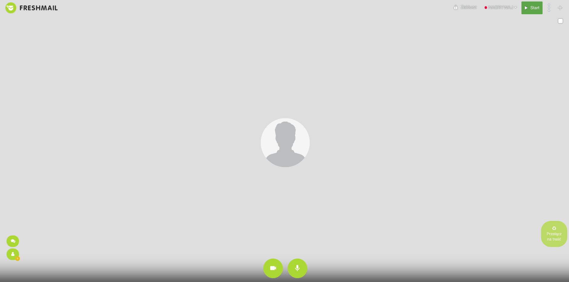 interfejs spotkania online