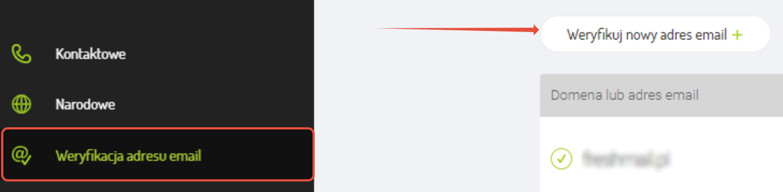 weryfikacja adresu email