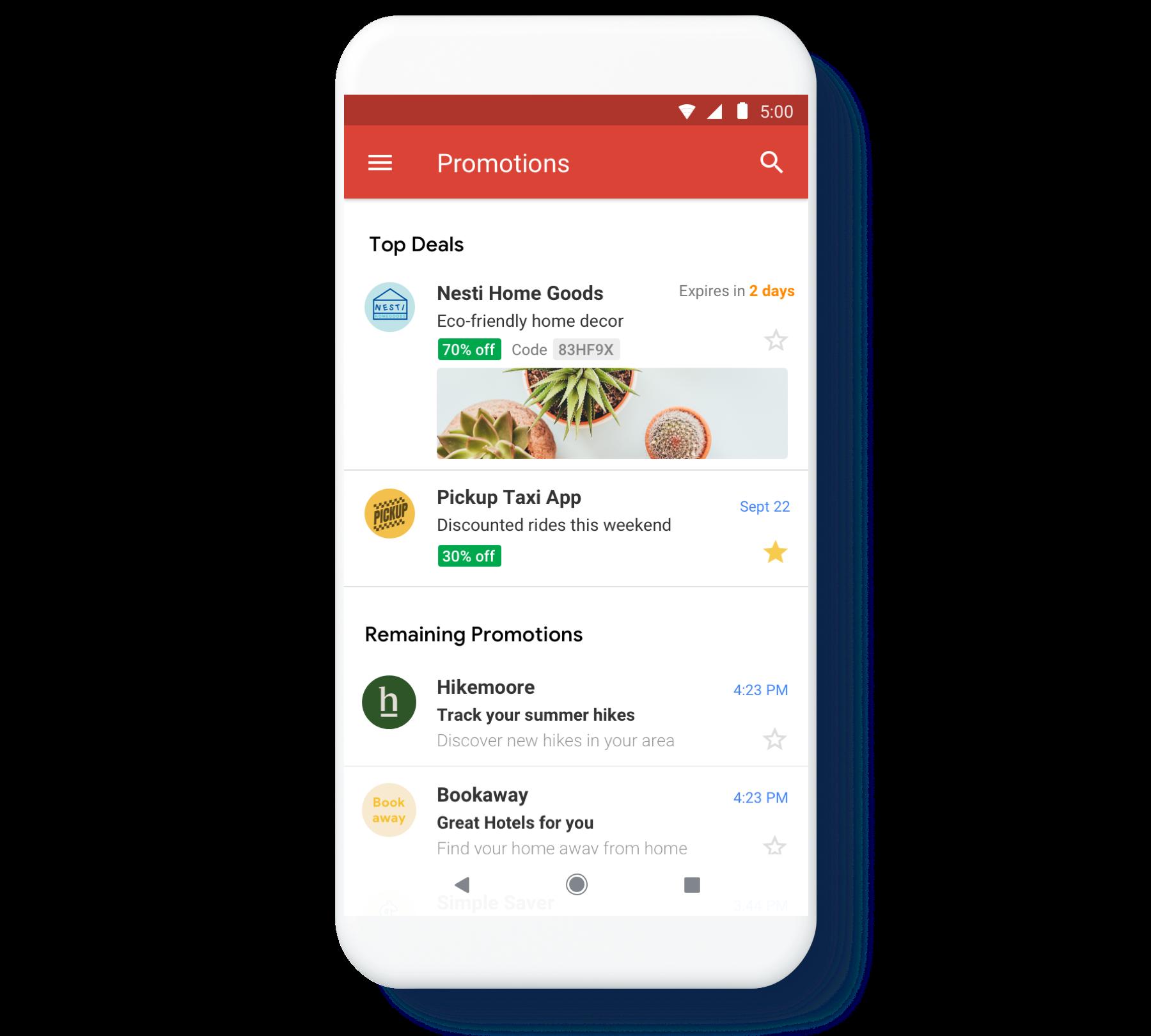przykład oferty na gmaillu