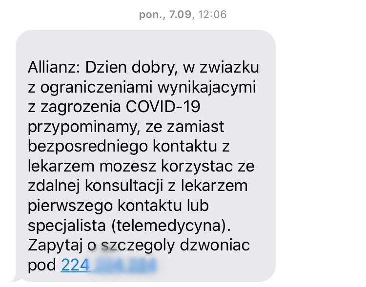 SMS Allianz